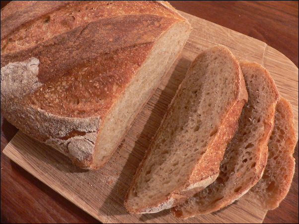 Potato garlic bread